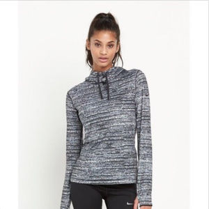 Nike Pro Hyperwarm Training Hoodie Pullover Large